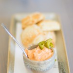 Warm Sesame Buttermilk Biscuits, Pimenta' Cheese, Pickled Jalapeños